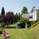 Villa Moni back garden